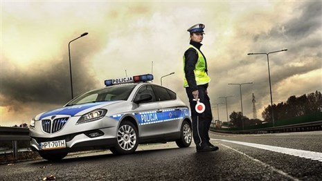 Первый электромобиль в полиции Польши