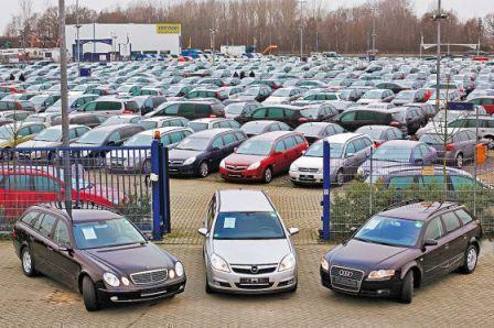 рынок бу автомобилей